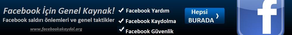Facebook'a Kaydol | Face Kaydol | Facebook Giriş | Facebook Hesap Aç | Facebook Tüyoları