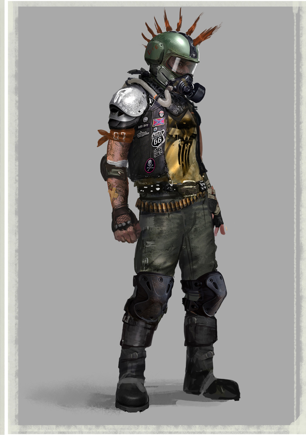 Fallout 4 Character Design Ideas : Apocalyptic concept art postapocalypse pics character