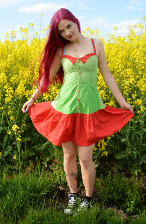 [Nähen] Sommerkleidchen