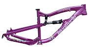 DA BOMB Bikes: Extreme MTB Frames & Components: 8/7/11 . (da bomb cherry bomb royal purple)