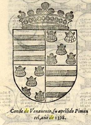 Escudo de armas del Conde de Benavente