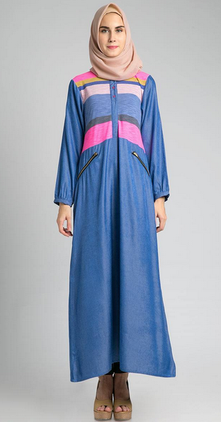 Gambar trend model baju dress muslim modern 2015 - Foto moderne dressing ...