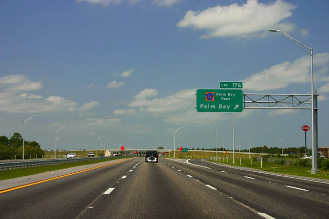 Palm Bay Exit, I-95 Northbound