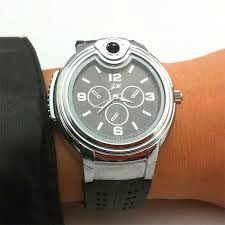 original reloj con mechero incorporado