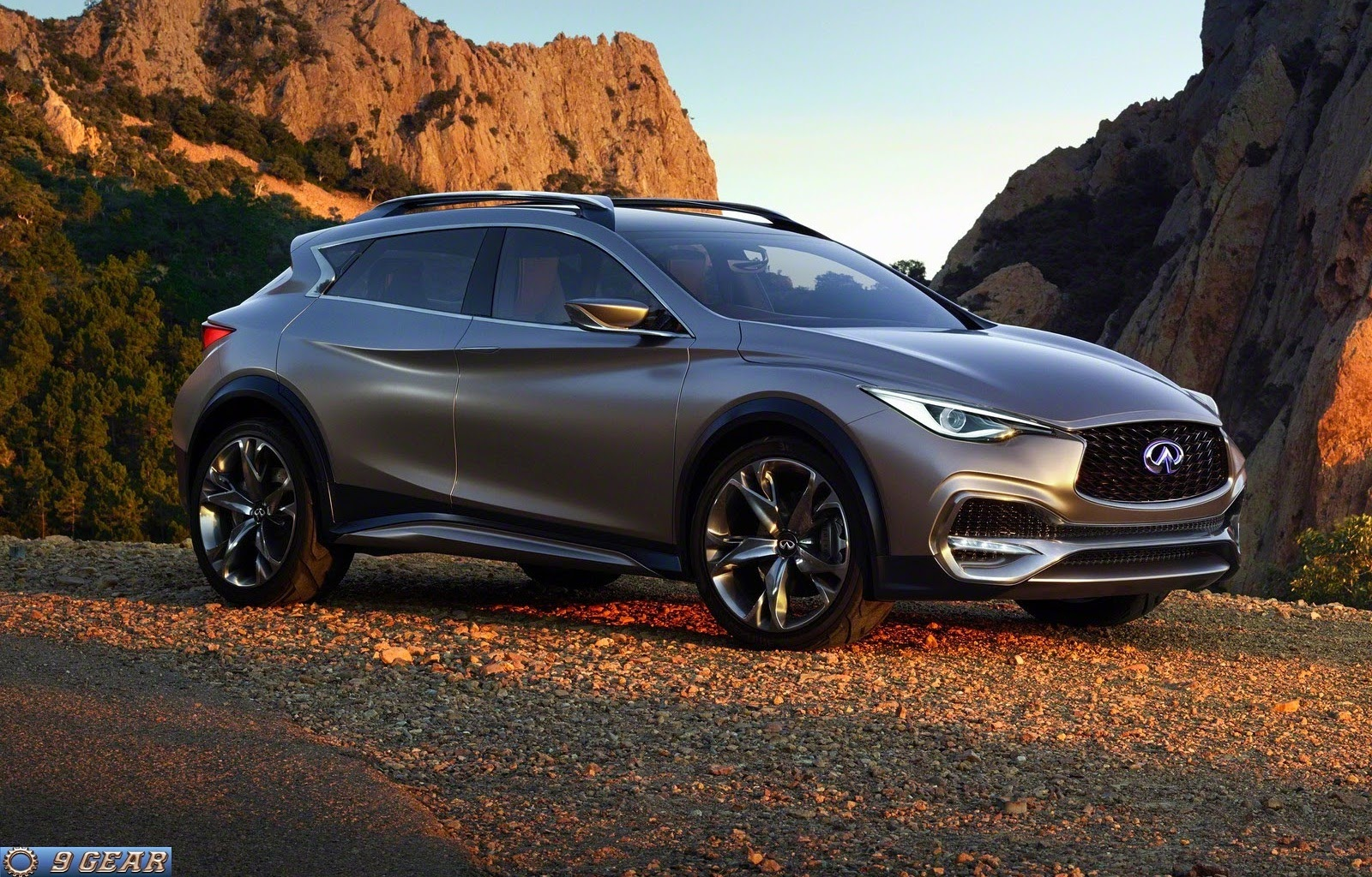 new infiniti qx30 crossover revealed car reviews new car pictures for 2018 2019. Black Bedroom Furniture Sets. Home Design Ideas