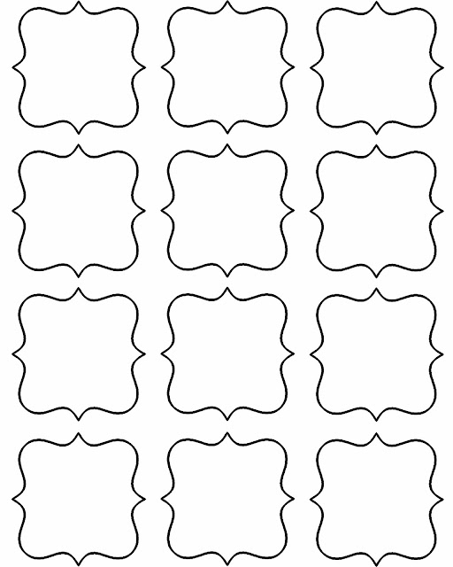 Doodlecraft freebie week gift tags and labels for Favor tags template