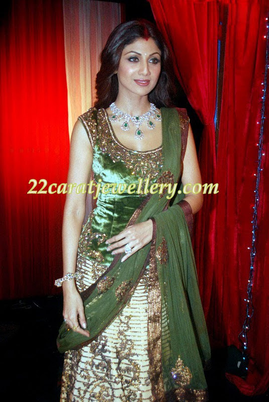 shilpa shetty in necklace jewellery designs