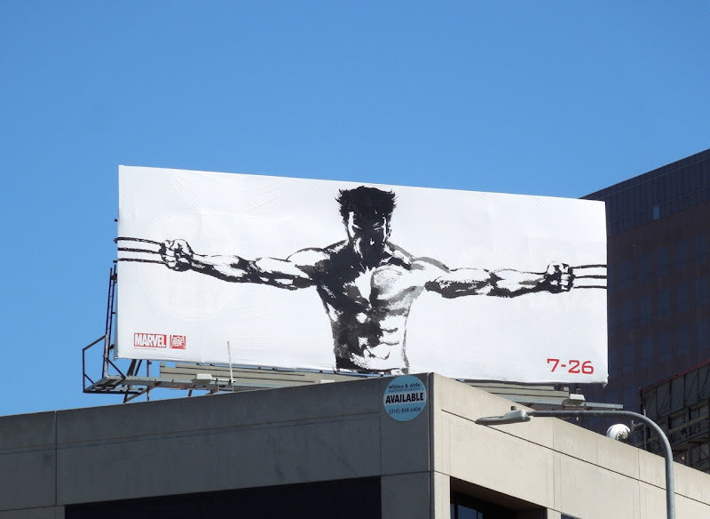 Wolverine teaser movie billboard