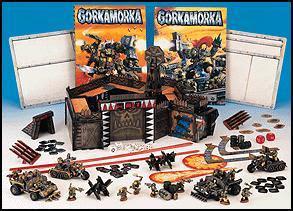Contenido de la caja de Gorkamorka