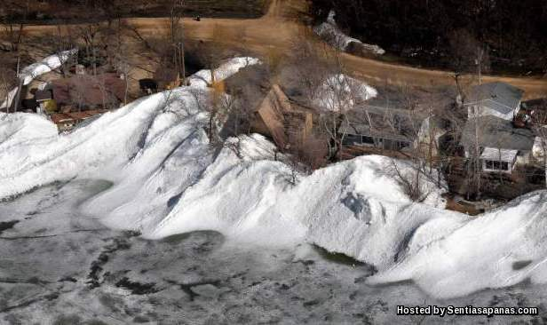 Ice Shove, Mille Lacs, Minnesota [6]