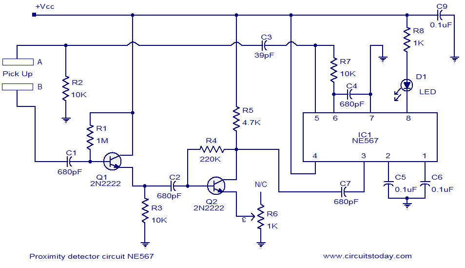 Inductive Proximity Switch Schematic Diagramon Relay Wiring Diagram