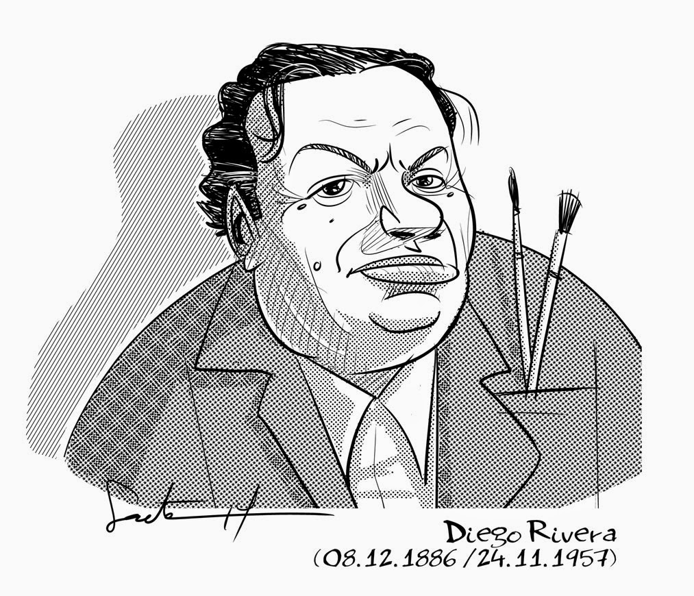 diego rivera coloring pages - photo#18