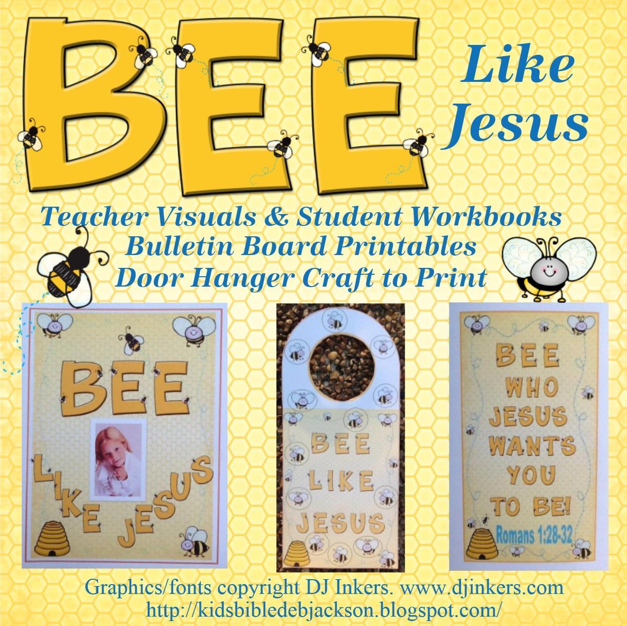 http://kidsbibledebjackson.blogspot.com/2013/07/31-romans-bee-who-jesus-wants-you-to.html