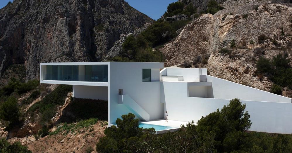 By zonarquitec casa en el acantilado alicante espa a - Arquitectos en alicante ...