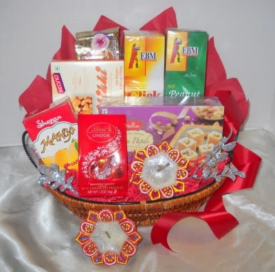 Boston gift baskets Indian gift baskets