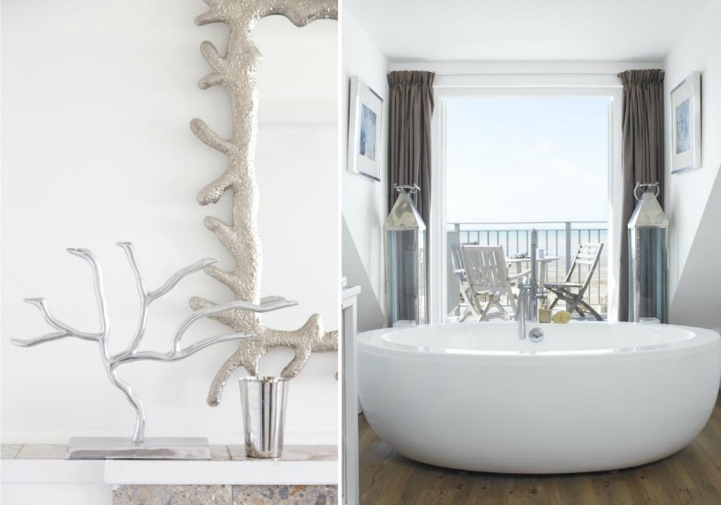 coastal chic master bathroom