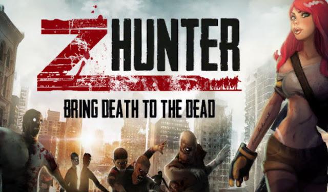Zombie Hunter: Apocalypse v1.7.4 Apk + Datos SD Mod [Dinero]