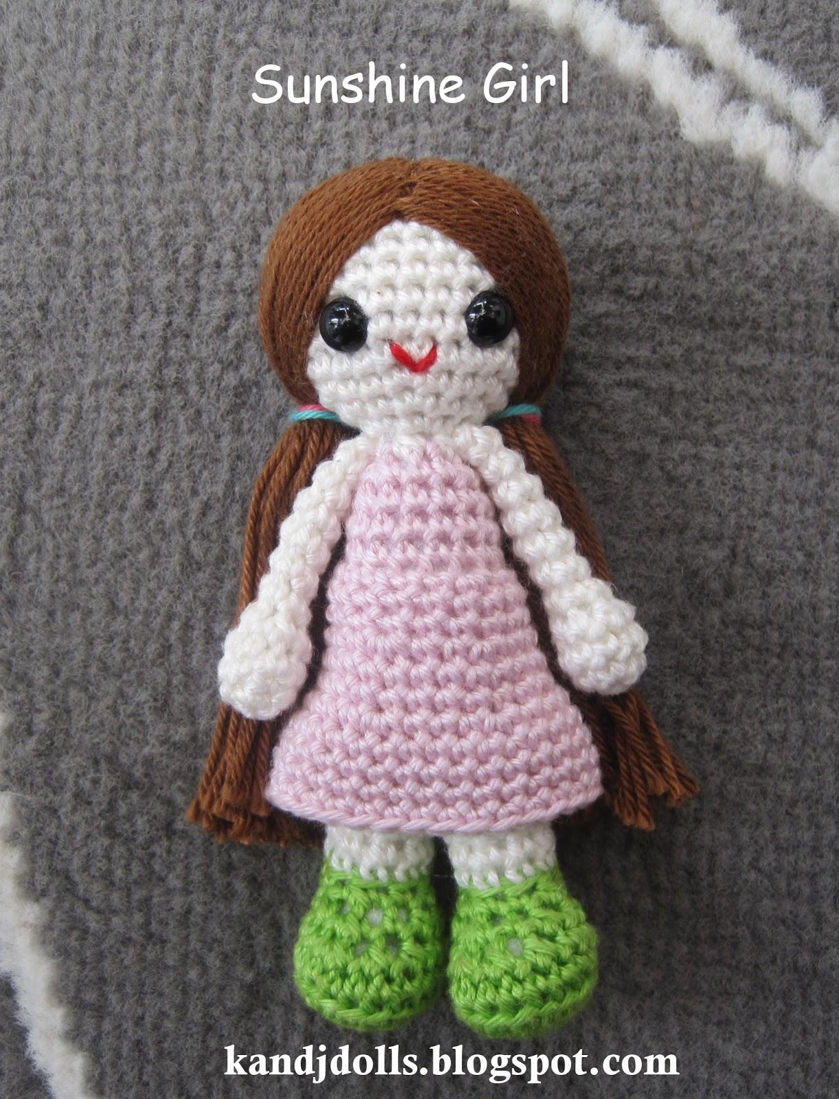 Amigurumi Crochet Patterns K And J Dolls : Sunshine Girl II - Sayjai Amigurumi Crochet Patterns ~ K ...