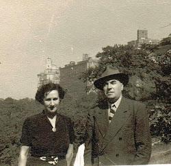 Maestro Agustí Borguñó Garriga y Sra.