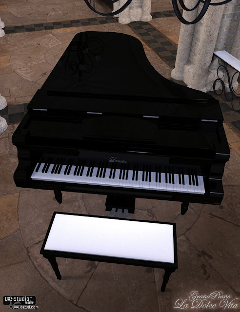 La Dolce Vita Grand Piano