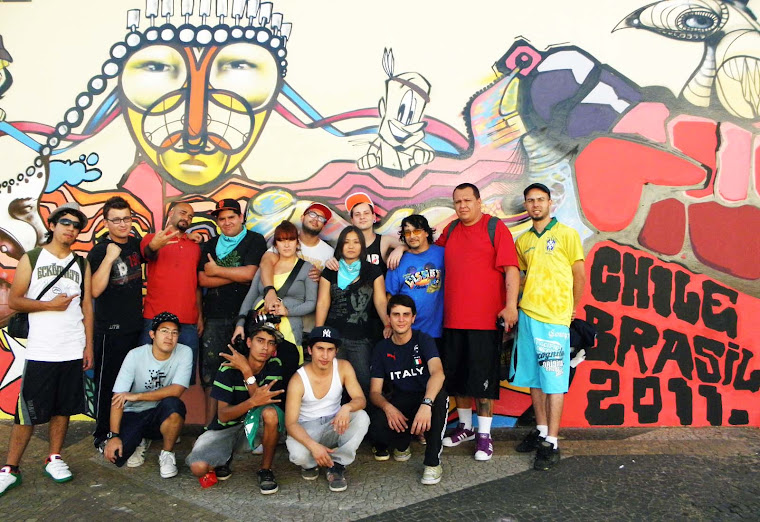 1° encontro de arte urbana chile e brasil