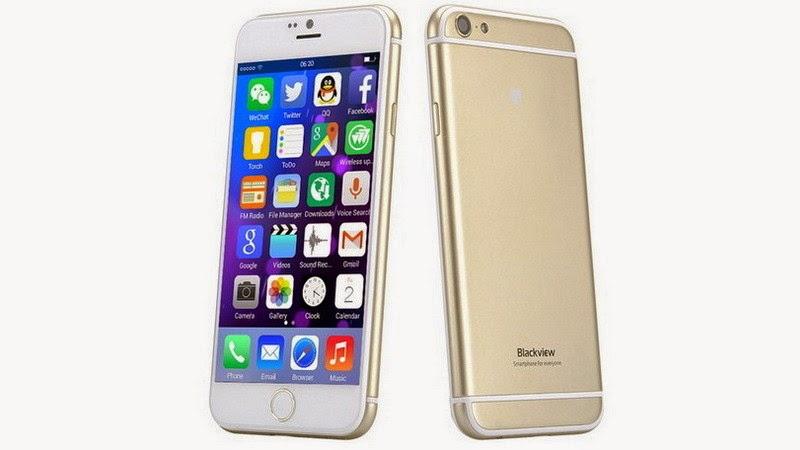 Blackview Ultra A6, smartphone super copy iPhone 6 harga 1,2 jutaan