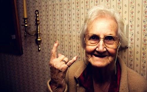 Glad pensionär