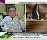 """Elvira Murcia: """"El recorte del 47% para la dependencia es un crimen"""""""