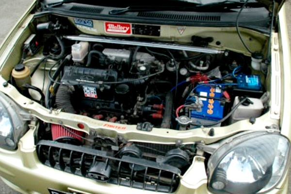 Ruang Mesin Mobil