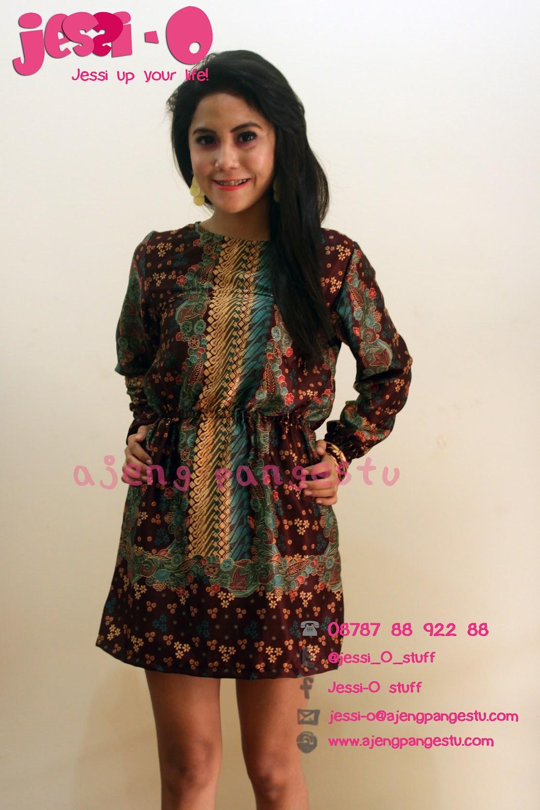 Jessi-O-Stuff: Sahla Batik Dress