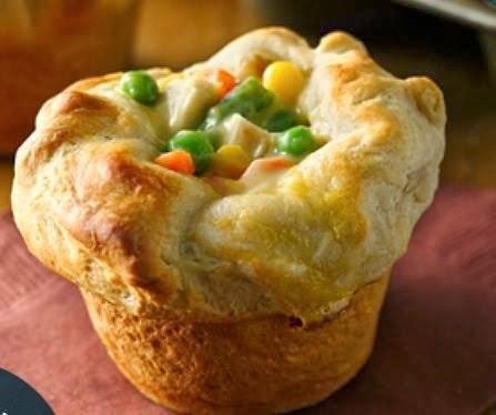 Recipes found on Facebook: Mini Chicken Pot Pies