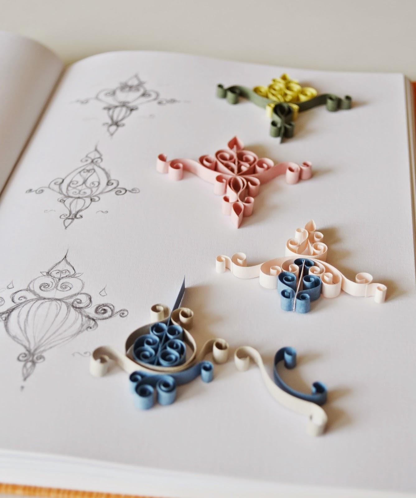 Ka tla k k eyler a new quilling collection sneak peek for Quilling patterns