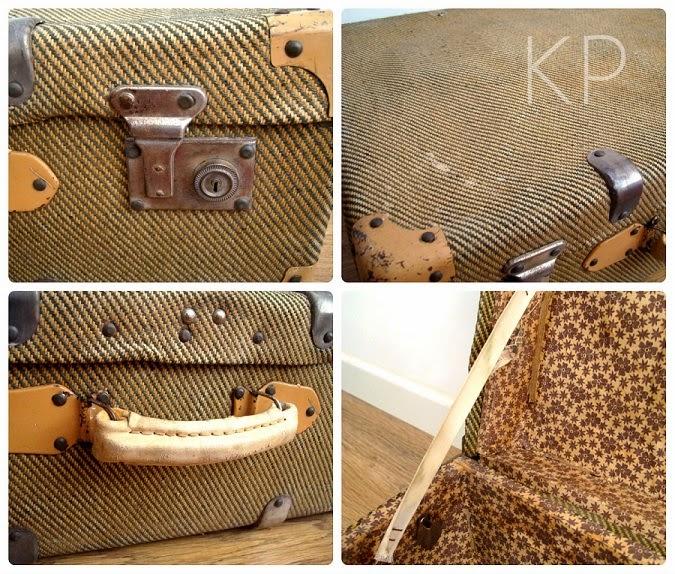 Comprar maletas antiguas en valencia. Buen estado. Objetos para decoración.