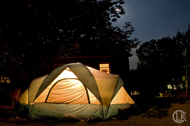 Backyard Camping  CLicKs Photography