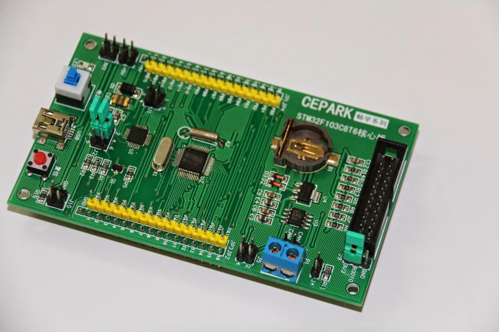 CEPARK STM32