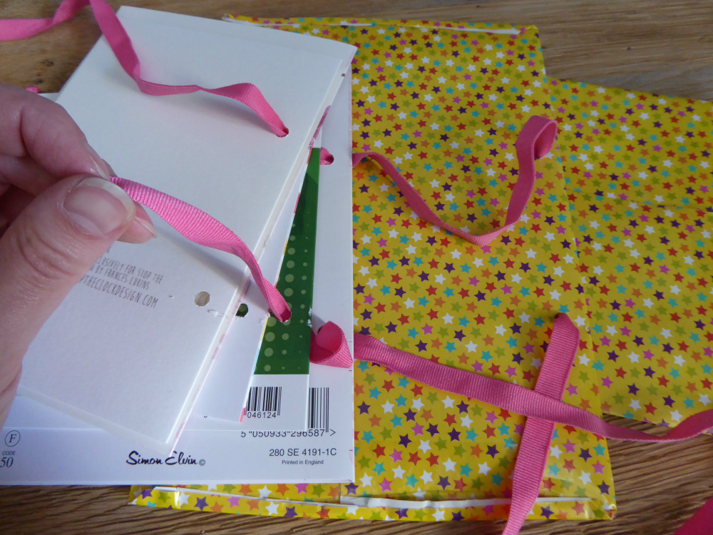 DIY New Baby Card Keepsake Book