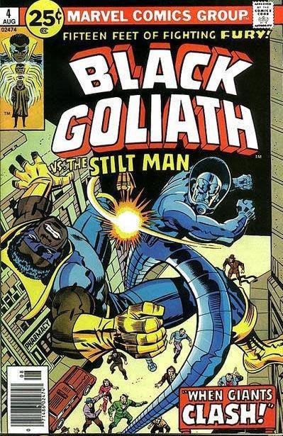Black Goliath #4, Stilt Man