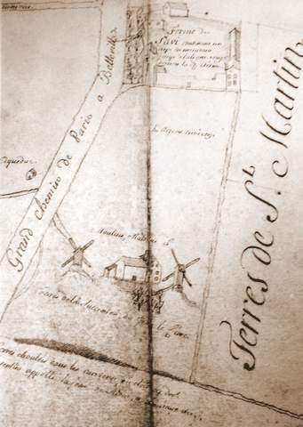 Les moulins de la butte chaumont plateau hassard le blog for Plan de moulins