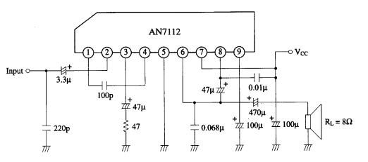 amplifiercircuits com  an7112