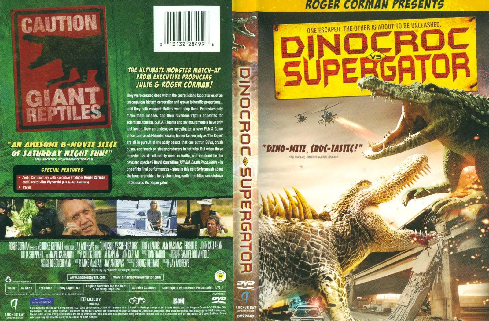 DINOCROC%2BVS.%2BSUPERGATOR ... rest of the first two thirds of the movie running from the Supergator.