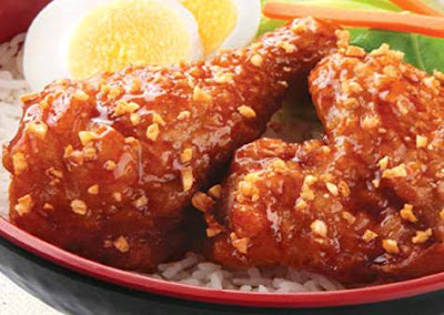 Chowking Menu - Honey Garlic Chicken Bowl