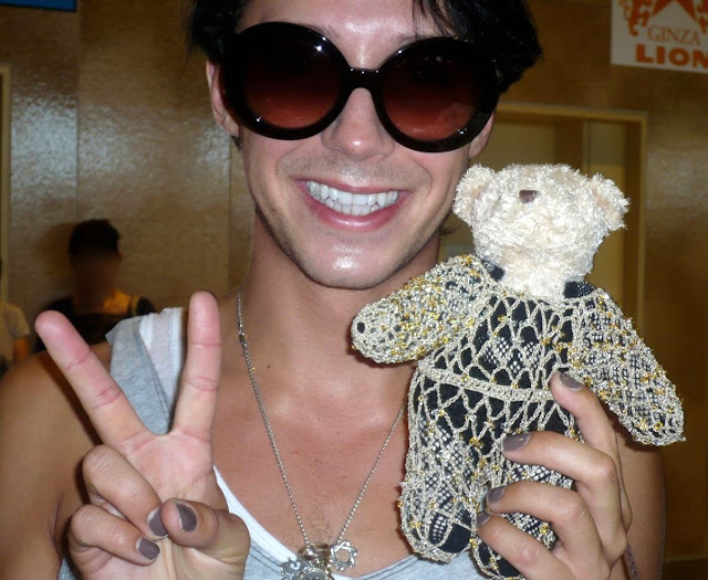 Johnny Weir. Photo © Ineko Nakagawa @ Official Johnny Weir Blog.