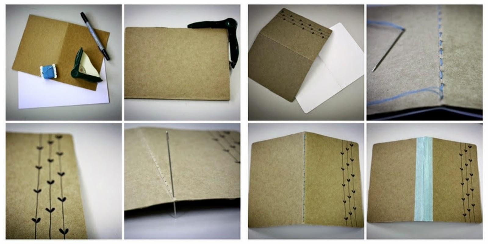 tutorial libreta diy notebook craft