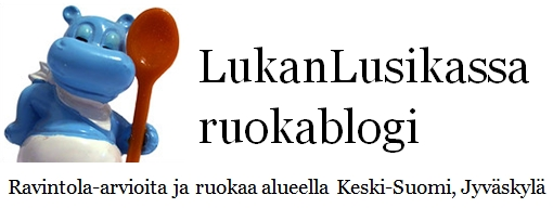 LukanLusikassa ruokablogi