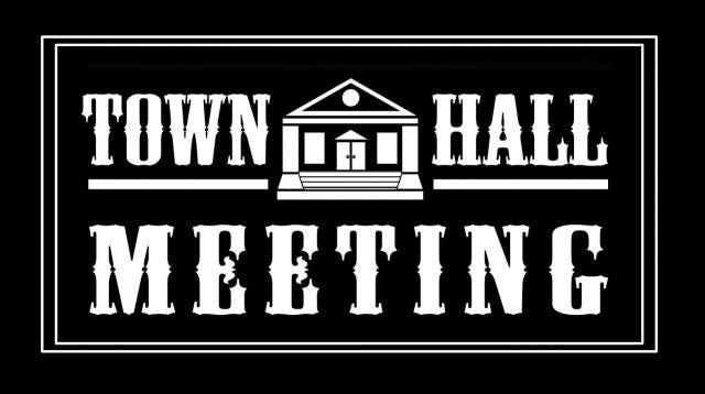 Town Hall Invitation was adorable invitations sample