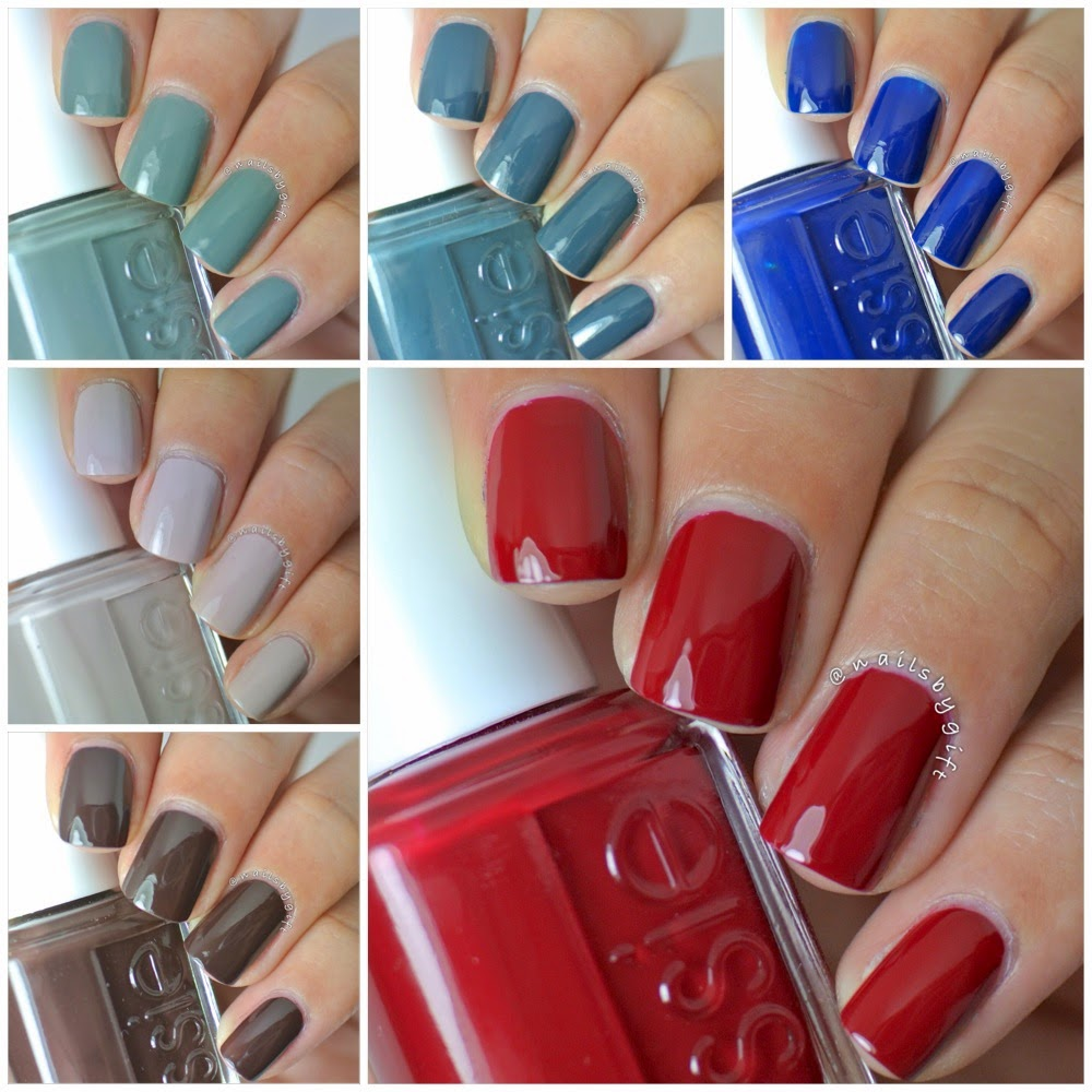 Nails by Gift - Essie Fall 2014 Dress to Kilt Collex  Giveaway  Ends 9    Essie Dress To Kilt