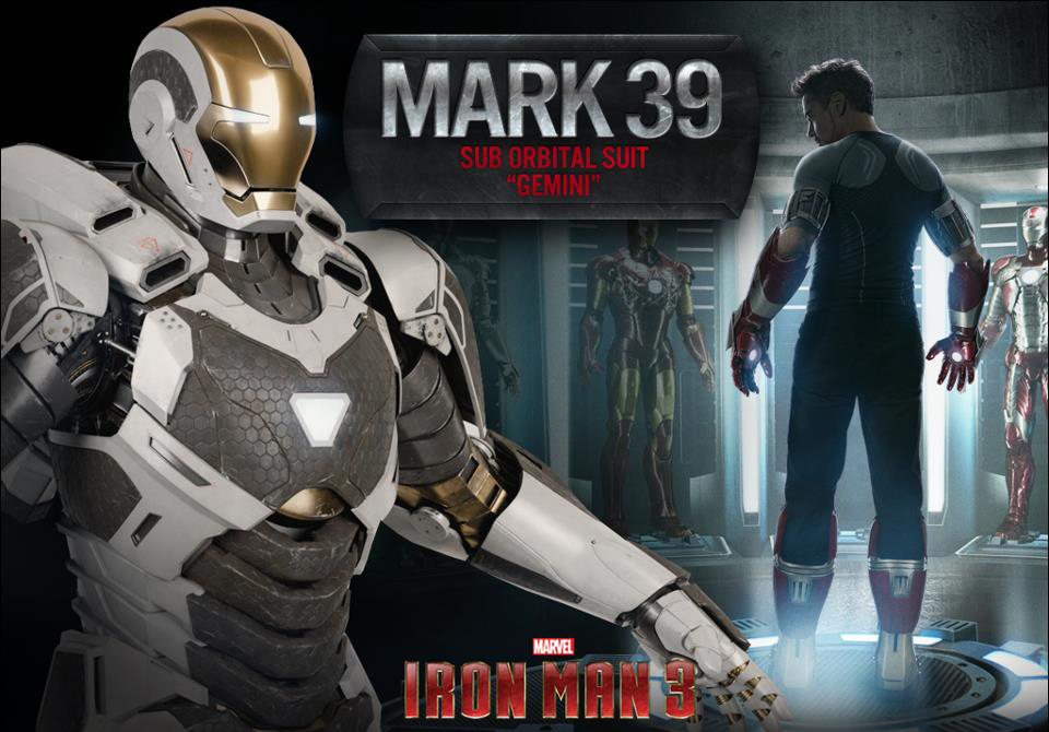 Iron Man 3: The Iron Legion Unveiled & New Poster