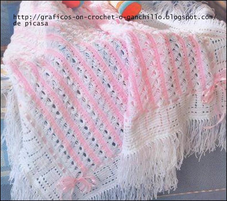 crochet fabric , CROCHET - GANCHILLO - PATRONES - GRAFICOS: LINDAS ...