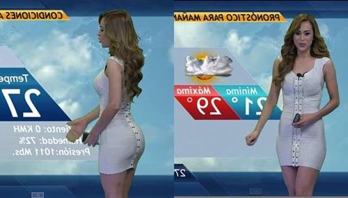 Heboh Presenter Berita Cuaca Cantik Yang Mendadak Sensasional