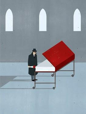 Ilustración Minimalista de Alessandro Gottardo